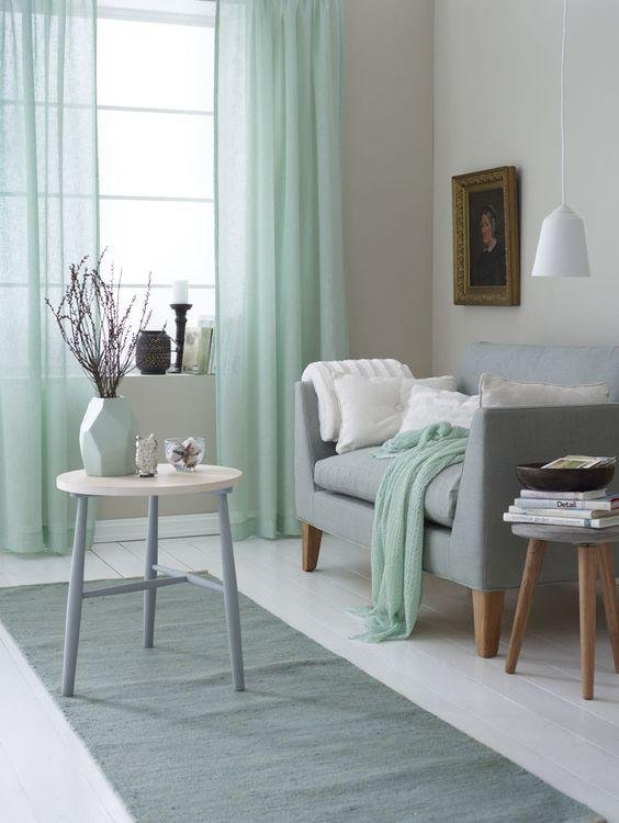 Decorar con MINT o verde menta